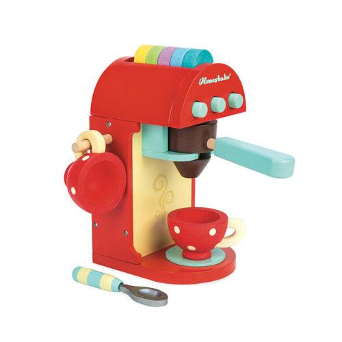 Červený kávovar 3