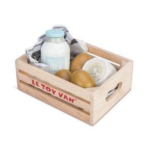 Debnička - vajíčka, mlieko, syr