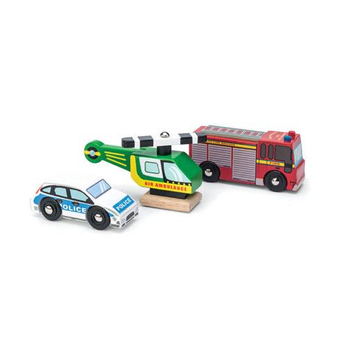 Drevené záchranárske vozidlá 1