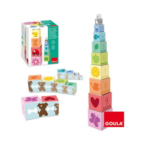 Farebné kocky čísla 1