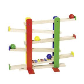 Guličková dráha s xylofónom