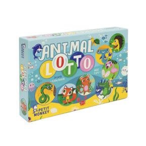 Hra lotto Zvieratká