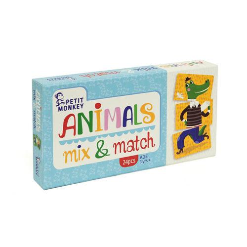 Hra – spájanie zvieratiek 1