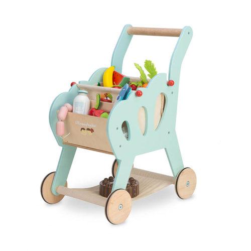 Modrý nákupný košík 1