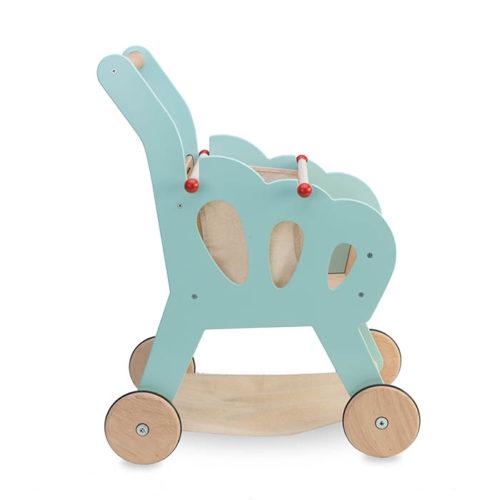 Modrý nákupný košík