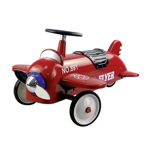 Odrážadlo - červené lietadlo