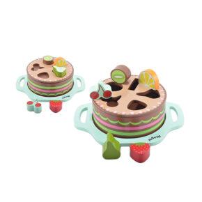 Ovocný koláč 3v1
