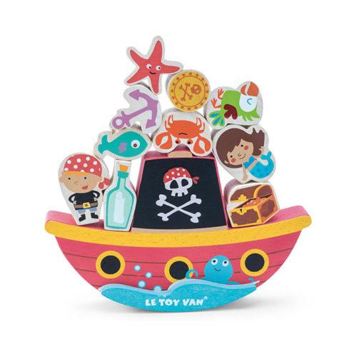 Pirátska balansujúca loď 1