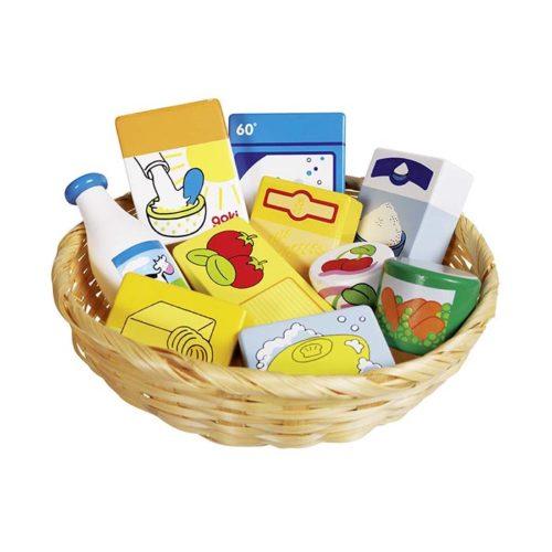 Potraviny v košíku 1