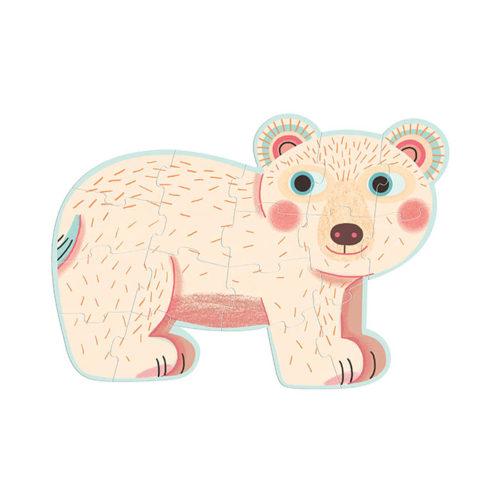 Primo puzzle pre najmenších Lesné zvieratká 4