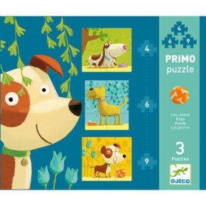Primo puzzle pre najmenších Psík