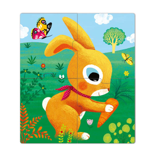 Primo puzzle pre najmenších Zajačik 2