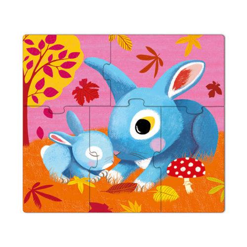 Primo puzzle pre najmenších Zajačik 3