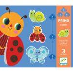 Primo puzzle pre najmenších Zvieratká v záhrade 1