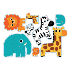 Puzzle 4 v 1 džungla