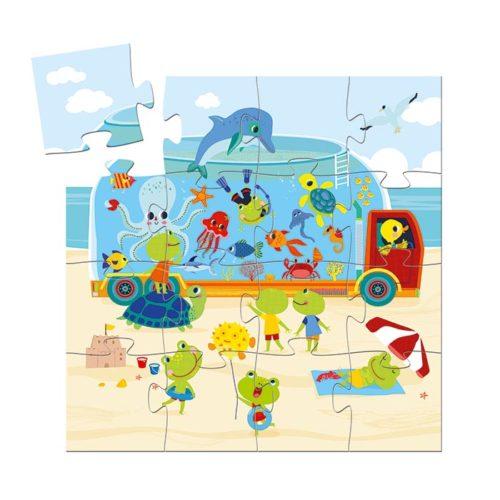 Puzzle Akvárium 2