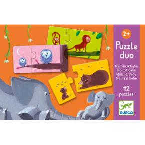 Puzzle duo Mamina a mláďatko