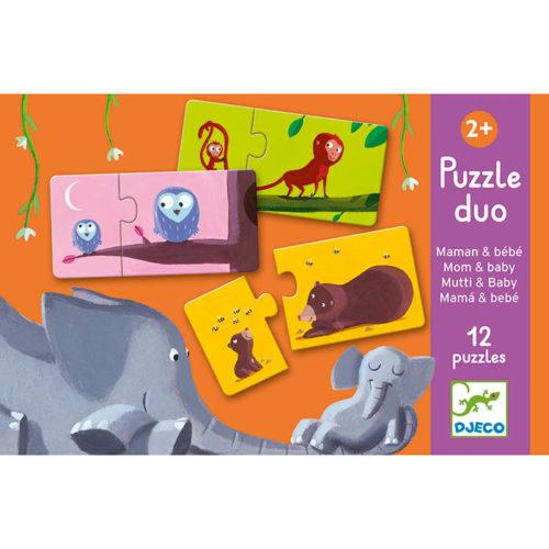 Puzzle duo Mamina a mláďatko 1