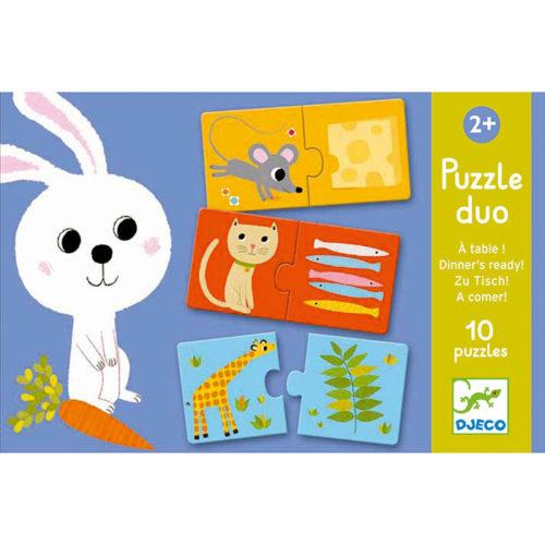 Puzzle duo Obed je hotový 1