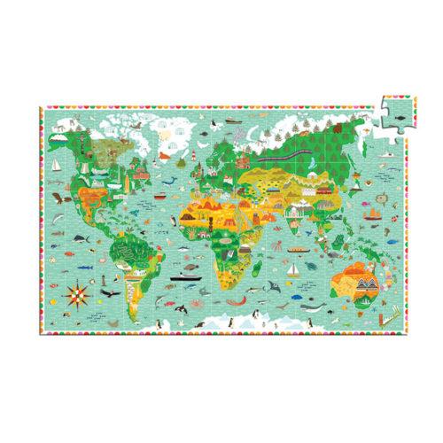 Puzzle Monumenty sveta