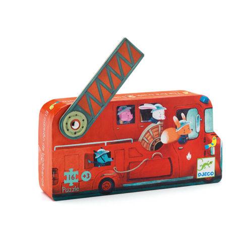 Puzzle Požiarnicke auto 1