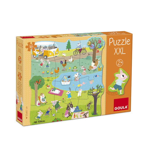 Puzzle XXL Zvieratká v prírode