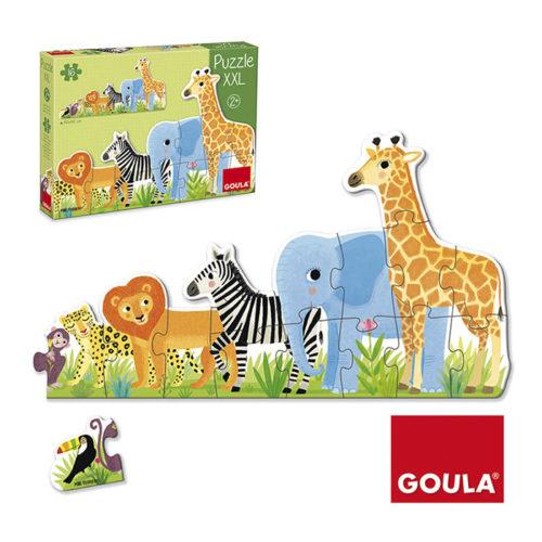 Puzzle XXL Zvieratká z džungle