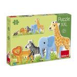 Puzzle XXL Zvieratká z džungle 3