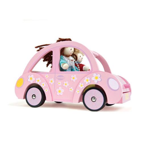 Ružové auto slečny Sofie