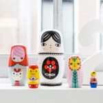 Nesting dolls Fleur & Friends ND4