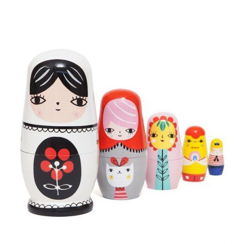 Nesting dolls fleur & friends ND4 a