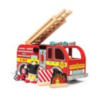 TV427 Fire Engine + accessories & 1 Budkins Included (2)