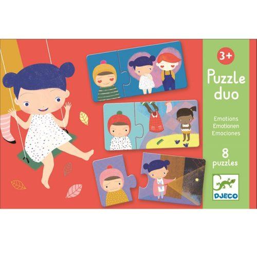 Puzzle duo emocie