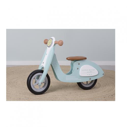 drevene-odrazadlo-scooter-mentolova-1-miniland