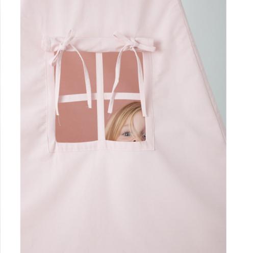 Detský stan teepee Little dutch ružová