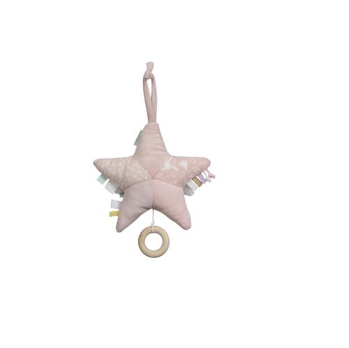 Hracia hviezda Little Dutch ružová