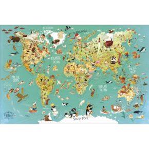 Magnetická mapa sveta