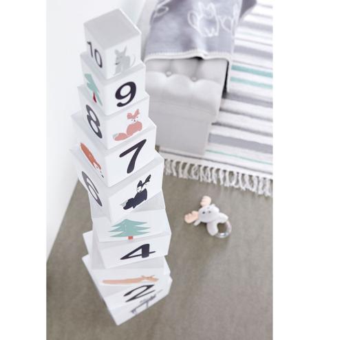 Kartónové kocky Edvin