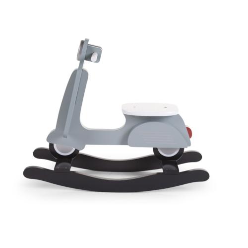 Hojdací scooter modrý
