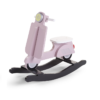 Hojdací scooter ružový