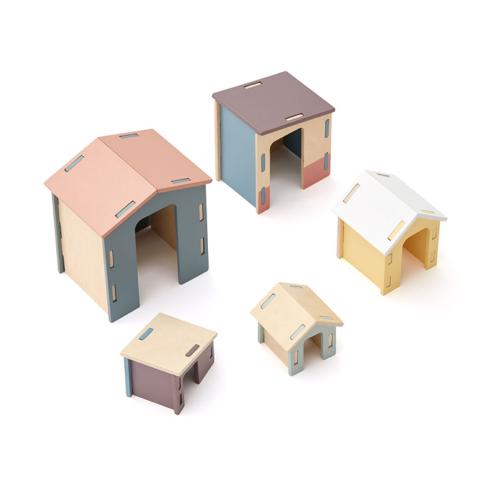 Drevené domčeky Edvin