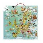 Magnetická mapa Európy