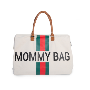 Taška Mommy bag White Green Red