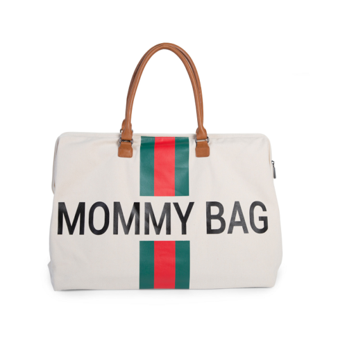 Taška Mommy bag White Green Red