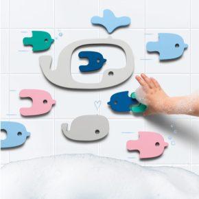 Puzzle do vody Veľryby