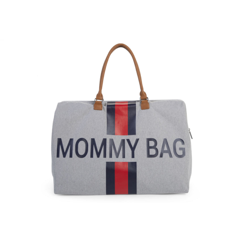 Taška Mommy bag Grey stripes