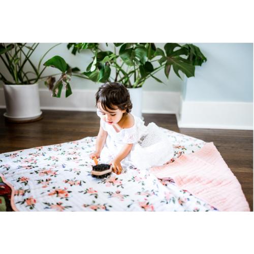 Mušelinová deka Watercolor roses