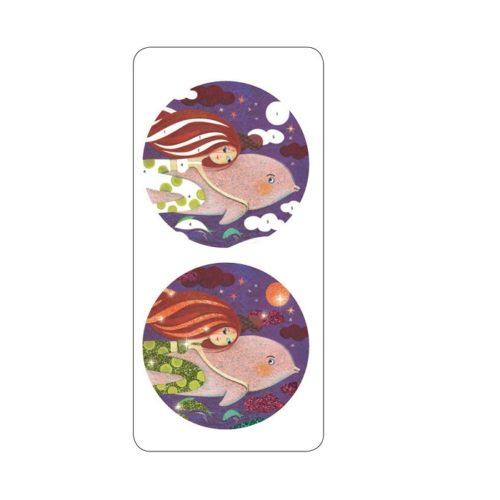 Výtvarná sada Trblietavé morské víly