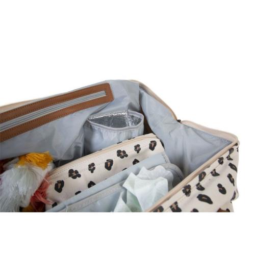 Taška Mommy bag Leopard
