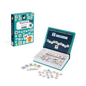 Magnetická kniha Anglická abeceda